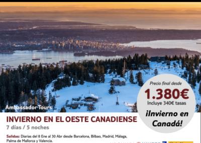 Canadá oeste