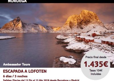 Noruega Lofoten