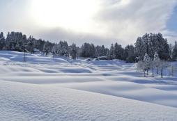 viaje a destino de nieve