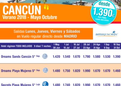 Cancún Mayo-Octubre